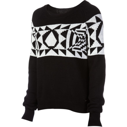 Surf There are a few things that rock about the end of summer, and one of them is the start of sweater season and the the chance to to wear your Volcom Women's Spirit Animal Sweater. This cozy pullover is great for cool evenings out and afternoon leaf-raking sessions. - $32.70