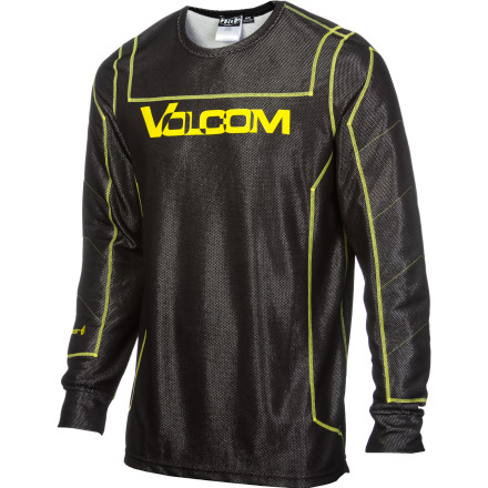 Surf Start out with the Volcom T.D.S. Riding Crew next to your skin and you're most of the way to warm before you even slide into a jacket. Volcom's Thermal Defense System keeps you warm with strategically placed panels of Poly fill synthetic insulation where you need extra warmth and techno-mesh panels where you don't. - $49.47