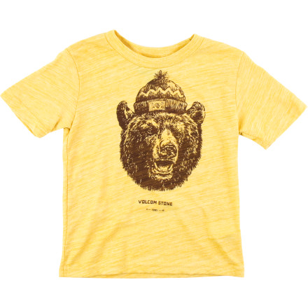 Surf Volcom Grizzly T-Shirt - Short-Sleeve - Little Boys' - $9.98