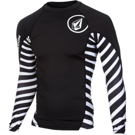 Surf If you're not down with your chest looking like it got into a fight with a piece of sand paper, make sure you wear the Volcom Radiant Men's Long-Sleeve Rashguard when you head out for a long day of surfing. It prevents chafing from the sand on your board while you're paddling out, not to mention it shields your back from the sun so you're not red on both sides when you exit the water. - $36.95