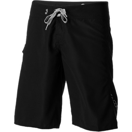 Surf Whether you're surfing, spear fishing, or wakeboarding, rely on the comfort of the Volcom Women's Foster Gals Board Short. This 11-inch short offers plenty of stretch, helps shield your thighs from board rash, and keeps your bottoms on when you take a wicked crash on your wakeboard. - $35.16