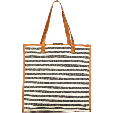 Surf Make sure you have everything you need for a full day at the beach this spring break with the Volcom Embrace The Tote Women's Bag. It's roomy enough to hold your towel, sandals, and your big bottle ... of water. - $35.21