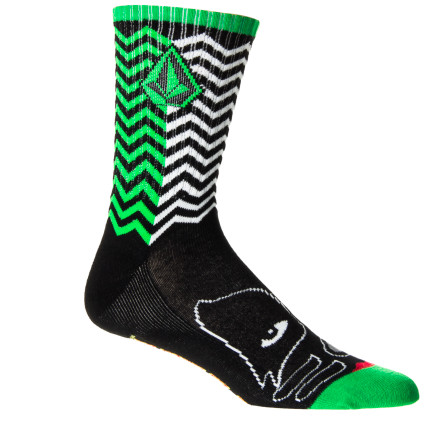 Skateboard Volcom Kiss Puppet Sock - Men's - $13.56