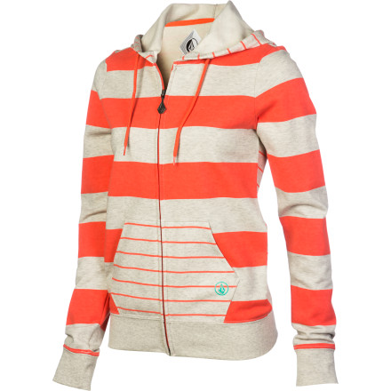 Surf Volcom Stoned As Full-Zip Hoodie - Women's - $34.62