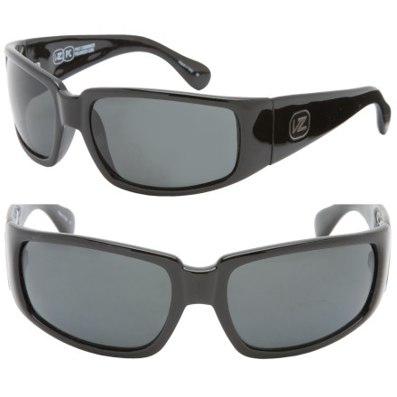Entertainment Get the technology you want without sacrificing sick style with the Von Zipper Papa G Polarized Sunglasses. These shades eliminate reflected light to block evil glare and allow for truer colors and exceptional clarity. With its wide, wrap-around style, the Papa G Polarized Sunglasses give you complete coverage on the road or slopes and won't allow any rays blinding you from the back. - $139.95