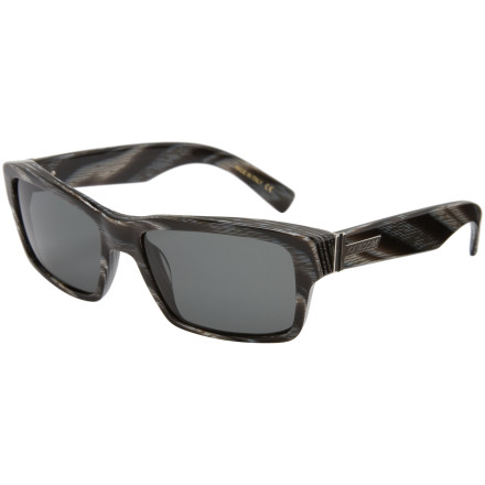Entertainment Von Zipper's Fulton sunglasses bring a touch of vintage style to the table without conforming to cookie-cutter eyewear shapes. Stainless-steel hinges and impact-resistant polycarbonate lenses offer plenty of durability, because let's face itnobody ever PLANS to faceplant in the deep end of the bowl. - $69.97
