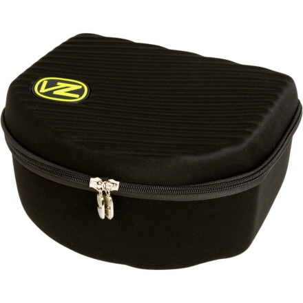 Snowboard Use the Von Zipper Goggle Single Case to store your collection of belly-button lint. Or just use it to keep your goggles from getting scratched and/or crushed when theyre not on your face. - $24.95