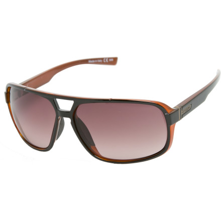 Entertainment Nine out of ten assassin robots from the future prefer Von Zipper's Decco sunglasses. With a stylish, modern shape, comfy nose pads, and 100% UV protection, who could blame them - $89.95