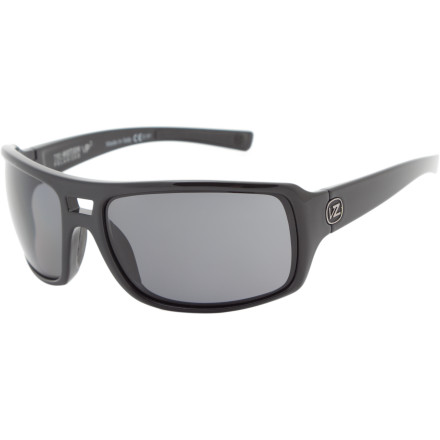 Entertainment Put on the VonZipper Hammerlock Polarized Sunglasses, and proceed to grab the menacing sun's arm and twist it behind his back until he begs for mercy. The Hammerlock provides sleek styling and functionality for full-tilt activeness, and offer eye-protection by cutting fatigue-causing glare and UV rays out of the picture. - $159.95