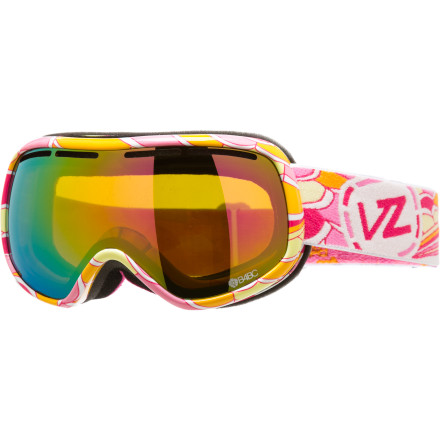 Snowboard The Von Zipper Chakra Goggle completes your search for inner peace by clearing your vision so you can meditate the only way you know how: racing down the side of a mountain through the snow. - $62.97