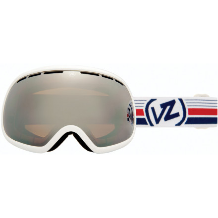 Ski If you've ever looked at your goldfish and wondered what it would be like to see the world from that point of view, now you can. The Von Zipper Fishbowl Goggle throws out over-the-top size to give you larger-than-life swag and a uninhibited view of the world. - $89.97