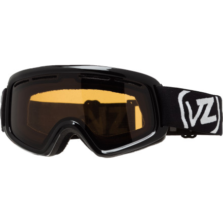 Ski Don't worry about your progeny's total lack of fear on the mountain, just be sure they can see clearly for maximum fun and safety. The Von Zipper Kids' Trike Goggle features is loaded with high-tech features to keep their view clean and clear. The Trike is fully helmet-compatible, so your little shredder has no excuse to not wear a skull protector. - $20.97