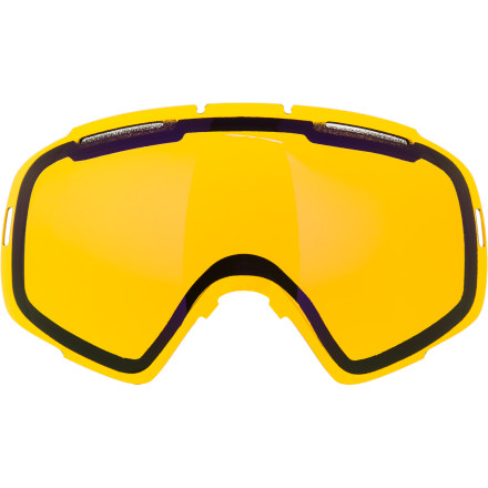 Ski The Von Zipper El Kabong Spherical Goggle Replacement Lenses keep you ready for ever changing light conditions. The Presto Change-O  Interchange system in your El Kabong goggles makes it easy to swap out the lenses so you can see clearly whether you're battling a storm or soaking in the sun. - $49.95