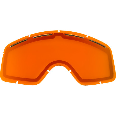 Ski From glaring sunlight to overcast skies, light conditions can vary wildly, and having one of more of the Von Zipper Beefy Cylindrical Goggle Replacement Lens on hand keeps you ready for wildly varying light levels so you can see what you need to see. - $14.95