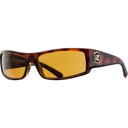 Entertainment Keep your eyes safely shielded from the sun in the Von Zipper Burnout Polarized Sunglasses. The ergonomic design blocks light coming in from the side and helps them stay on your face when you're getting active, and the polarized lenses blocks glare from snow and water, making them ideal for everything from snowboarding to fly fishing. - $69.97