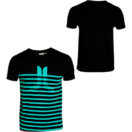 Wearing the WeSC Men's Icon And Stripes T-Shirt is a mind-altering experience much like having a cup of coffee or chewing on a nickel. - $15.57