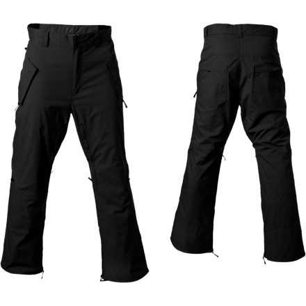 Snowboard Pull on the WeSC Staffan Snowboard Pant and rest assured that the Superlative Conspiracy is protecting you from evil corporate snow infiltration. - $89.08