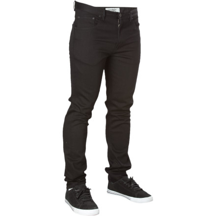 The WeSC Eddy Slim Fit Denim Pant features a slouchy slim fit that's roomy and comfy up top, and tapers to a slim fit below the knee. Stretchy denim fabric means you can move well enough to flick that frontside flip without blowing a seam. - $57.17