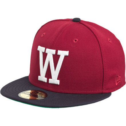 When people ask you what the 'W' on the WeSC 59fifty W Hat stands for, you have a long list to choose from. Options include 'Wonderboy', 'Wicked-Pissah', and 'Wiseass', to name but a few. - $21.57