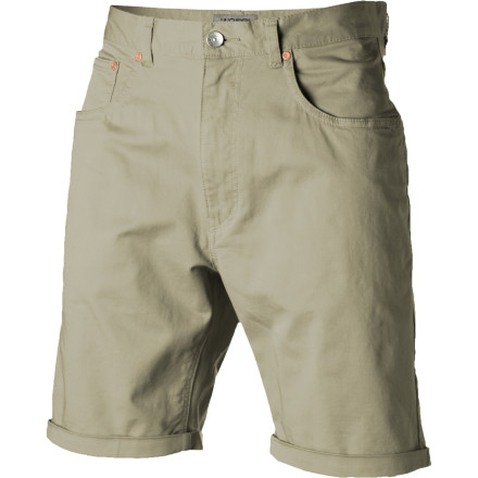 The WeSC Conway Short's tapered leg and tailored fit combine with slightly stretchy cotton denim fabric to create a streamlined, stylish short that you'll want to wear all summer. - $41.57