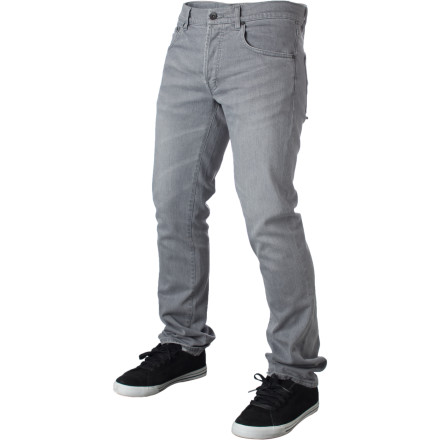 The WeSC Slim Denim Pant features a low rise, button fly, and a slim straight fit with just enough stretch to let you move comfortably. - $51.16