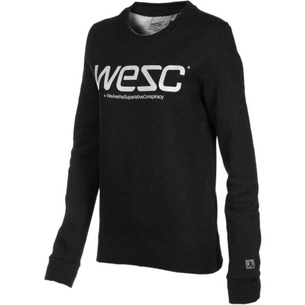 Entertainment Face it, you\222re creative and lazy. Luckily for you, the WeSC Women\222s Pullover Sweatshirt has you covered. When you roll out of bed and begin the automated zombie-walk to the coffee shop, take a second and slip on the Pullover to guard against the not-so-early morning chill. - $31.32