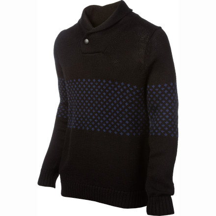 If an old-school Scandinavian sweater and a hot-off-the-runway pullover got freaky in your closet and made a baby, you'd end up with the WeSC Astor Sweater. This soft wool pullover brings a little modern-day swagger to traditional style. - $65.97