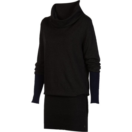 Entertainment The WeSC Women's Julita Sweater is  a versatile wardrobe-booster that looks great whether you rock it as a knit top or a super-sexy sweater dress. Pair this pullover with a pair of contrasting leggings or sheer stockings, and show off your legs. - $51.32