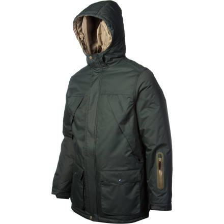 Snowboard Zip up in the WeSC Linde Insulated Jacket when you want a fresh look and enough snow-stopping tech to keep you dry when you're playing in the park. This jacket gives you the original style you crave with straightforward design that doesn't need to scream for attention to get noticed. - $85.48