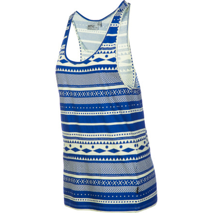 Surf The WeSC Women's Larper Stripe Tank Top is an easy go-to when you want a casual, relaxed look that still has a bit of visual excitement. Slip into this tank and enjoy warm weather in style. - $22.17