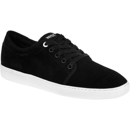 Entertainment The WeSC Edmond Shoe dishes out simple, laid-back look that will ramp your style whether you prep out with shorts and a blazer or baller down with baggy jeans and a jersey. - $35.97