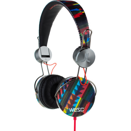 Entertainment The WeSC Banjar Headphones combine a retro shape with modern materials for a stylish look that pumps out crisp, clean sound. - $53.87