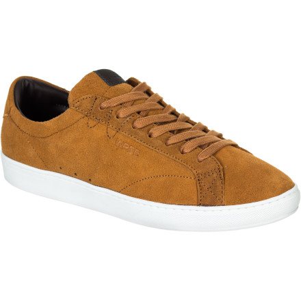 Entertainment The WeSC Clopton Shoe features a low-pro cupsole design complete with waxed cotton laces for a sleek look. - $59.97