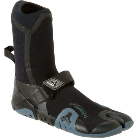 Surf Mavericks doesn't get good until the coldest time of the year, and the XCEL Men's Infiniti Drylock Split-Toe Boot is made for the worst that brings out the best. Warm toes aren't useful when constricted, so the split-toe design allows enhanced feel and flexibility, while Drylock seams seal out bone-chilling water. - $35.97