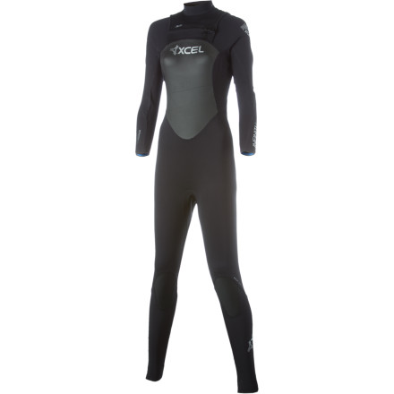 Surf Cut your changing time in half with the XCEL Hawaii Women's Infiniti X-Zip 3/2 Wetsuit. Thanks to its X-Zip system, you'll be able to get in and out of your wetsuit easily and avoid the awkward wetsuit dance. - $157.48