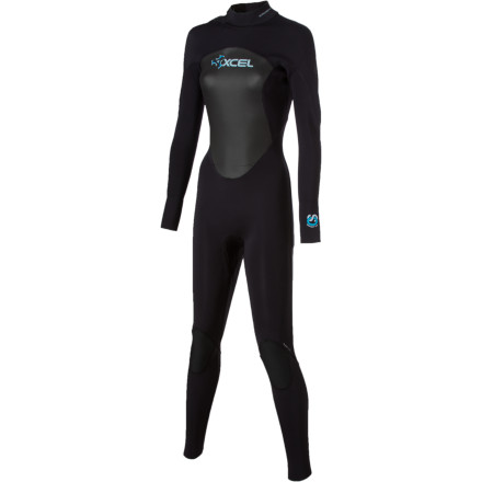 Surf Stretchy neoprene, a heat-retaining lining, and reinforced seams that flex with you make the XCEL Hawaii Women's 3/2 Offset Wetsuit the obvious choice for a dedicated wave rider. But XCEL designers didn't stop there. They gave this three-two suit the Off-Set back zipper system to relieve pressure at your spine and makes it easier to reach the zipper pull when your tired, worn-out muscles can barely carry the board back to the car. - $174.97
