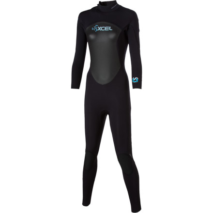 Surf The XCEL Hawaii Women's Offset 4/3 Wetsuit is a must-have if you intend on surfing in the fall, winter, and spring. Designed specifically for women, this durable, stretchy, and insulating suit works best in water temperatures between 54 and 59 degrees Fahrenheit. - $155.97