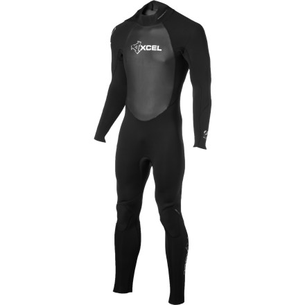 Surf Don't just stand there looking at the water. Pedal home, grab the XCEL Hawaii Men's 4/3 Offset Zip Wetsuit and your board, and get your arse back to the beach. - $195.97