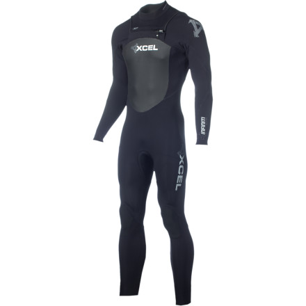 Surf Spring is here, so don the incredibly stretchy XCEL Hawaii Men's 3/2 X-Zip Wetsuit and get ready for your heat. - $220.47