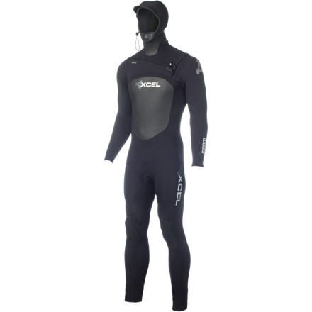 Surf If you want to run with the bulls in Pamplona, you don white clothes and a red sash. If you want to surf off the chilly NorCal coast or, even more exotic, Norway, then you don the XCEL Hawaii Men's 6/5 Infiniti X-Zip 2 Hooded Wetsuit. - $295.96