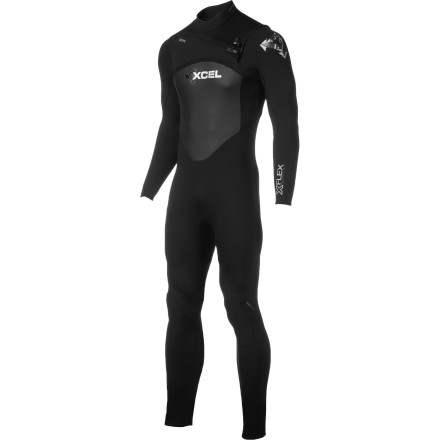 Surf You can bet the XCEL Hawaii Men's 4/3 X-Flex X-Zip 2 Wetsuit will provide ample warmth for those early spring and late fall temps when you paddle out in search for choice barrels. Extra stretchy neoprene, full interior taping, and a heat-retaining lining combine to keep you focused on your surfing while the chest zip eases the least pleasant part of surfing; getting in and out of your rubber. - $167.97