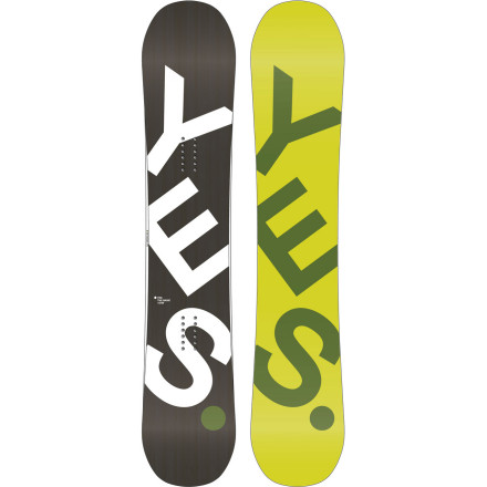 Snowboard The good folks at Yes Snowboards don't believe in discrimination. They think snowboarding should be fun and affordable for everybodyeven people with bigger-than-normal feet. And thus, the Basic CamRock Wide was born. With a moderate twin flex, poppy-yet-playful CamRock profile, and high-quality construction, the Basic basically lays waste to parks, pow runs, and everything in-between. - $239.37