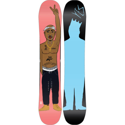 Snowboard Don't choose between Biggie and Pacshow love for both with the Yes Trouble Snowboard. Trevor 'Trouble' Andrew's signature model features a playful CamRock profile makes for more stomps and fewer slams, while carbon stringers and Tragne-Maction edges give you enough control to charge, bonk, and spin from peak to park. - $281.97
