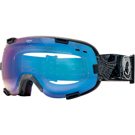 Ski Replace your quiver of snow goggles with the Zeal Voyageur Goggle and never look back. The rimless lens and frame interface offers maximum peripheral vision and venting, without sacrificing anything in the way of impact protection. One look through Zeal's optically precise Optimum lens will have you convinced that this should be your go-to goggle for storm days, bluebird days, and everything in between. - $104.26