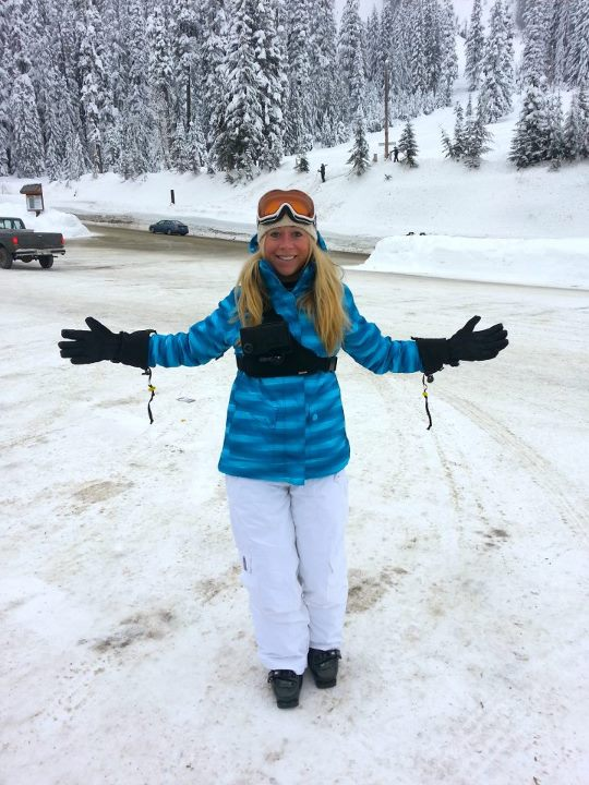 Snowboard Our VP of Sales Christie Shredding some POW Yesterday Sporting our killer Neoprene ChestR Chest Mount!  Is she using a Hitcase Pro/5 ??  Could be.  Could be.