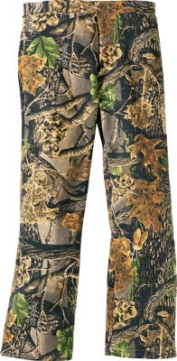 Hunting Easy to care for and packed with outdoor attitude, these sweatpants offer cozy comfort to your young outdoor enthusiast. Sweatpants are a 60/40 cotton/polyester blend and feature a drawcord-equipped elastic waistband, two pockets and open-leg cuffs for easy on and off. Machine washable. Imported.Sizes: S(6-8), M(10-12), L(14-16), XL(18-20). Camo pattern: Seclusion 3D. - $18.88