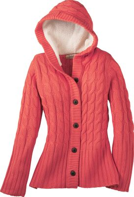 Earn style points without giving up the warmth or comfort youll need when the weather turns cold. Soft, thick Sherpa fleece lining in the hood. Wide-ribbed trim and large buttons add fashionable detail to a classic look. Imported.Sizes: S-2XL.Colors: Fireglow, Dark Chestnut, Coffee Bean, Custard. - $29.88