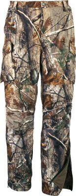 Hunting Learn how customers have come to trust the Silent-Suede performance Customers have relied on the weatherproof protection, silence and warmth of our legendary Silent-Suede for years. Now these trusted Mens Silent-Suede Pants with ScentLok and Thinsulate are more comfortable and field-ready than ever thanks to numerous improvements. Pants have a more anatomic performance fit for less bulk and enhanced freedom of movement. The lightweight, easy-to-adjust H-back suspenders eliminate the bulk of excess fabric and buckles. Waterproof leg zippers eliminate the need for a storm flap. Pockets have all been redesigned for more versatility and easier access. The suedelike shell has a low nap to resist collecting burs, seeds or other clingy vegetation. Add a 100% waterproof, breathable 4MOST DRY-PLUS lining, and you are shielded against all forms of precipitation. Thinsulate Insulation offers superior warmth without adding excess bulk. ScentLok adsorbs game-spooking odors. Brushed polyester-tricot lining. Imported. Sizes: 30-42. Camo patterns: Realtree XTRA, Cabelas Zonz Woodlands. Size: 30. Color: Realtree Xtra. Gender: Male. Age Group: Adult. Pattern: Camo. Type: Pants. - $234.88
