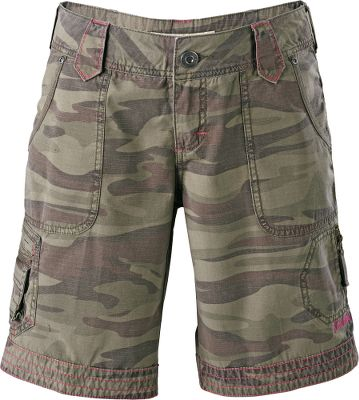 Perfect shorts with plenty of pockets for a wide range of pursuits. Theyre crafted of 100% cotton ripstop fabric for lasting wear. Two front pockets, two back pockets, a cargo pocket on the right leg and security pocket with a vertical zipper on the left thigh. Imported.Inseam: 9.Even sizes: 4-18.Colors: Olive, Desert Brush, Green Camo. - $19.88