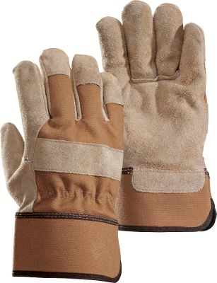 Hunting 100% cotton duck reinforced with durable cowhide-suede patches on the palms, fingers and across the knuckles for enhanced strength and improved grip. Features gun-cut construction which improves the fit and comfort of the gloves. Ideal for use on the farm and ranch as well as construction site. Easy-on-and-off cuffs. Imported.Sizes: S-2XL.Color: Tan. Type: Gloves. Size: X-Large. Color: Tan. Size Xl. Color Tan. - $9.09